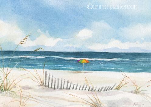 Beachwatercolor